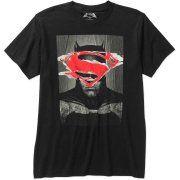 Batman v Superman: Dawn of Justice Superman Logo Men's Graphic Tee