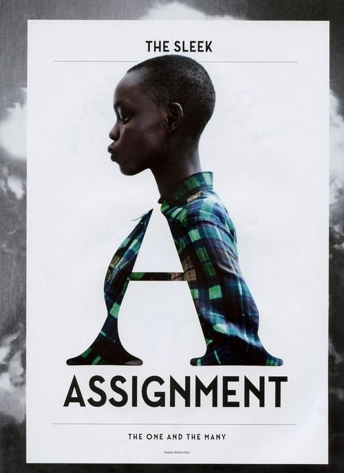 Assignment - #Typography #GraphicDesign #Photography #Design #Inspiration