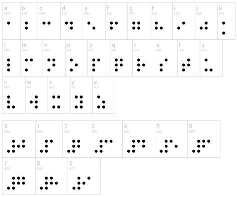 Braille Tattoo – I've always wanted to get one for a High school friend. ~CR
