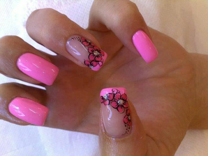 cvetići :) roza *_*