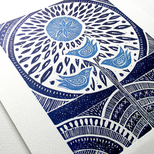 Linoleum Print Designs 45 best images about B...