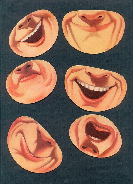 physog bouches nez 1 by pilllpat (agence eureka), via Flickr