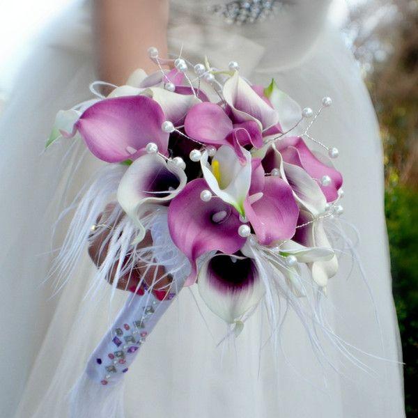 Hochzeit+brautsträuße+Calla+von+wandadesign+auf+DaWanda.com
