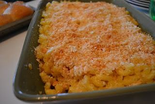 Tupelo Honey Cafe  Macaroni and Gouda Cheese Casserole