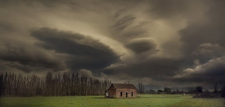I Caught Up With My Thoughts Just Before Greytown, the Storm Caught Up With Me Shortly After, Taken in Ahikouka, New Zealand by Peter Kurdulija
