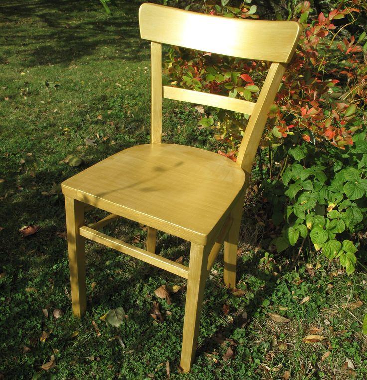 Ein alter Küchenstuhl wird zum Goldstück Bauanleitung zum...