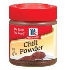 McCormick chili powder est unmélange d'épices indispensable à toute recette de chili: chili con carne, chili végétarien... Utilisez-le avec des herbes fraîches, des épices, des légumes, des haricots, des tomates, de la viande si vous le souhaitez, et vous obtiendrez le parfait Chili! A vous de jouer pour découvrir enfin le goûtd'un bon chili! #chilipowder #poudreachili #chiliconcarne #platamericain #cuisinetexmex #cuisineamericaine #mylittleamerica #epicerieamericaine
