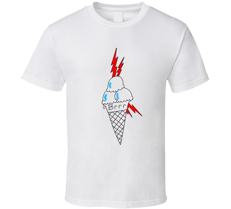 Free Gucci Mane Ice Cream Cone Tattoo Rap Music Tshirt