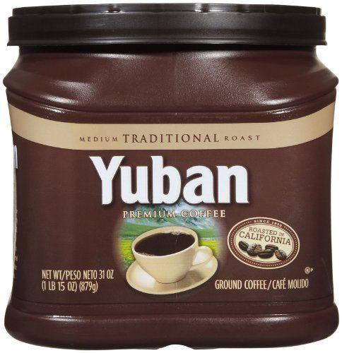 Yuban Coffee, Original 31 Ounce Package, 31-Ounce - http://hotcoffeepods.com/yuban-coffee-original-31-ounce-package-31-ounce/