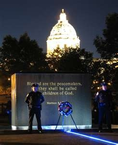 National Law Enforcement Memorial: www.blackenwolf.com .... Military & 1st Responder LED Logo Lights
