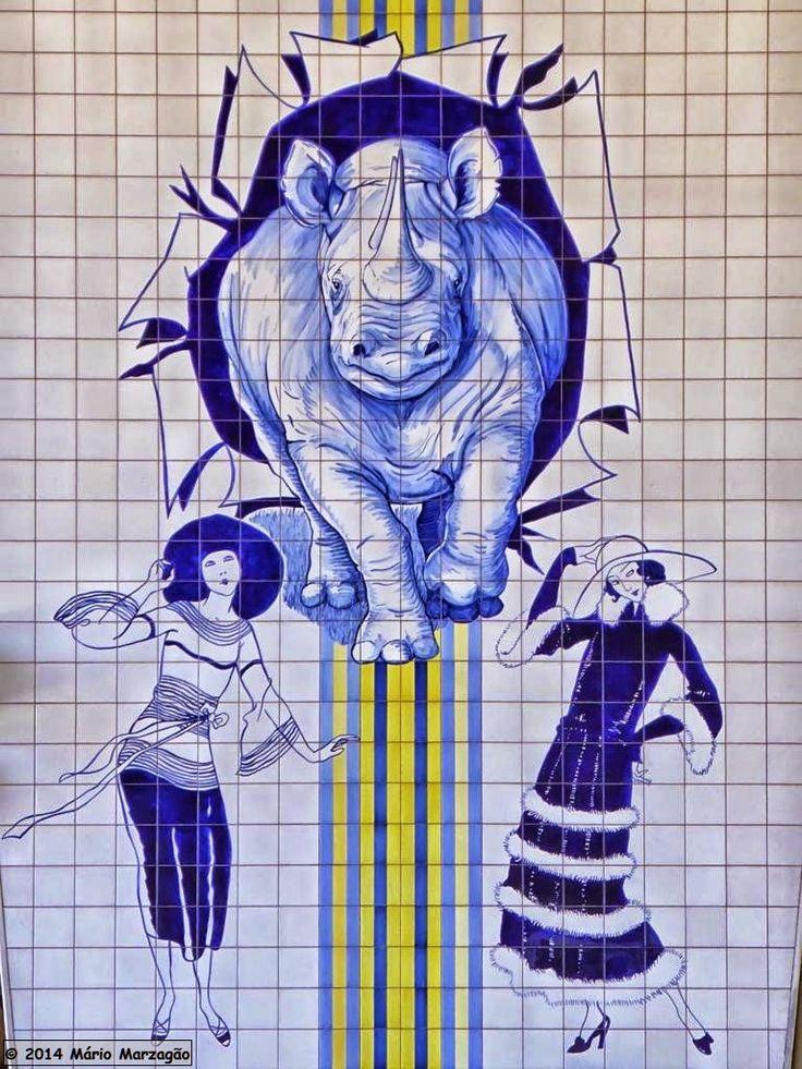 Azulejos, Eduardo Nery, 1998, Campo Grande. Mário Marzagão alfacinha