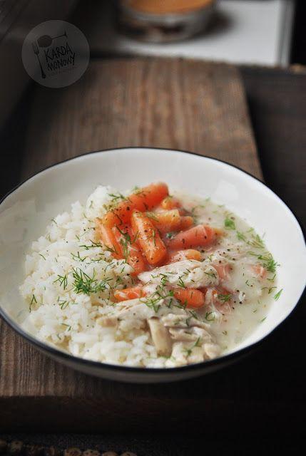 Kardamonowy: Potrawka z kurczaka