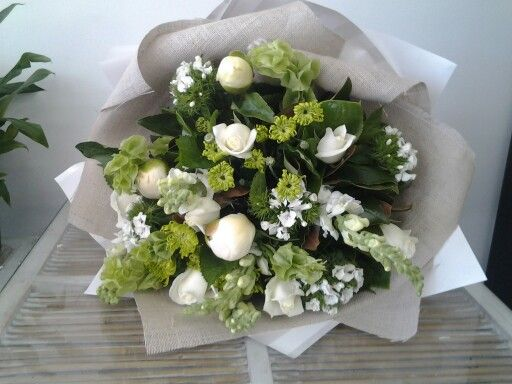 Named after my beautiful Mom Kathryn is a classic white and lime beauty.  www.flowerz.co.nz