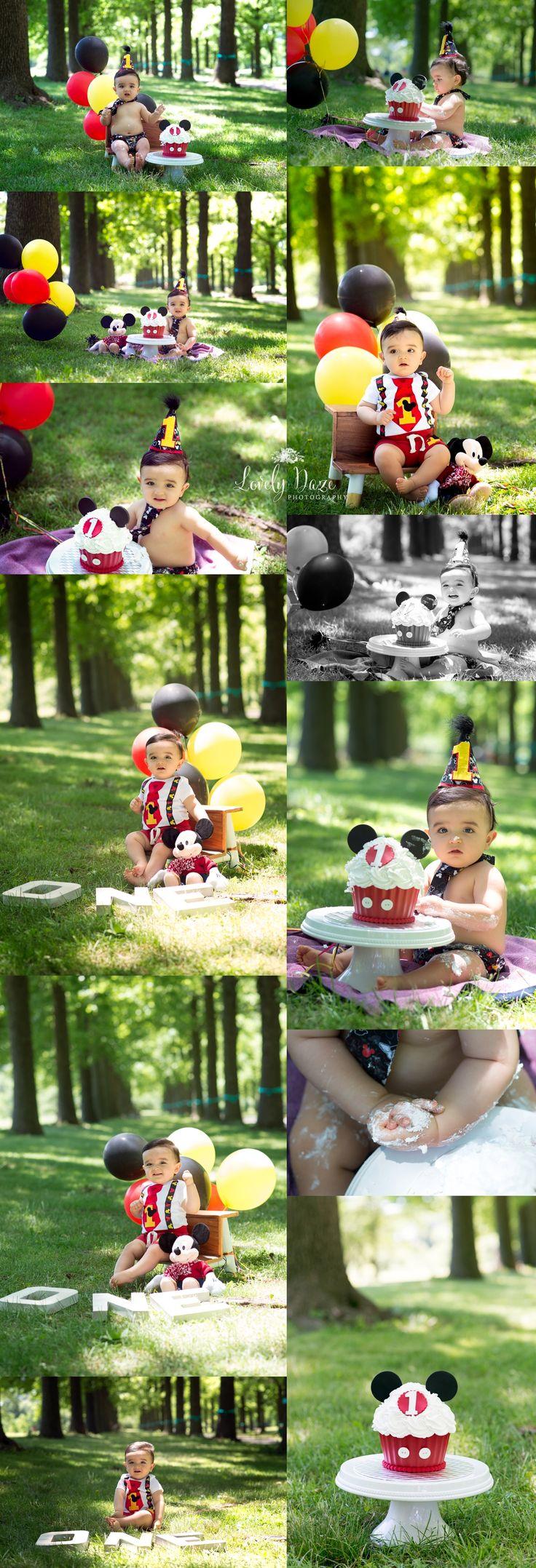 Mickey Mouse Cake Smash