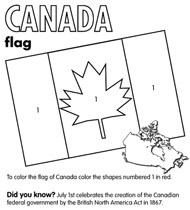 Crayola colouring pages - provinces, prine ministers & more