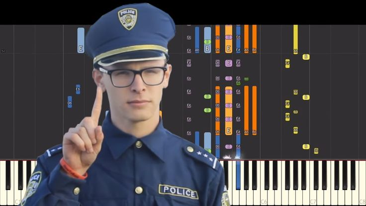 IMPOSSIBLE REMIX - Content Cop iDubbbzTV Theme - Piano Cover