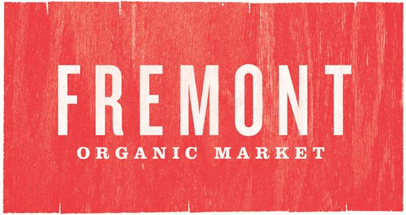 Fremont Organic Market by Matthew Giuliari, via Behance