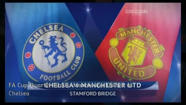 Get Ready To Rumble!!! Manchester United vs Chelsea [VIDEO] - created using www.picovico.com