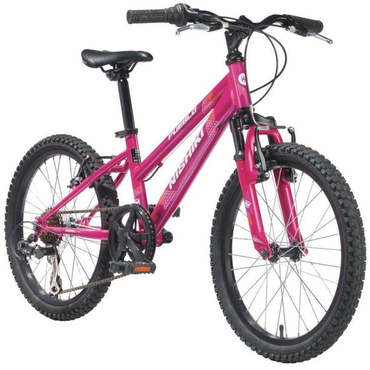 Nishiki Girls' Pueblo 20'' Mountain Bike, Pink