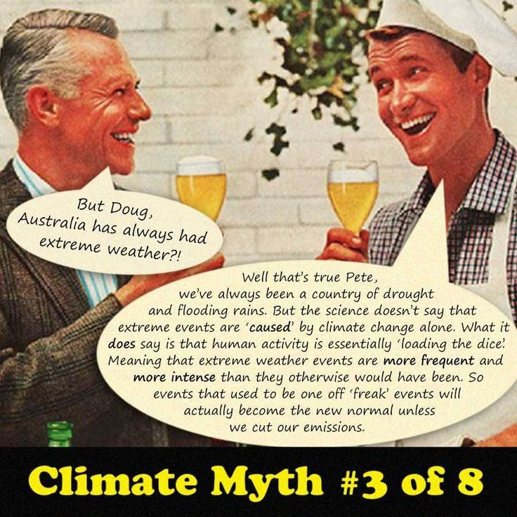 climate change myth #3