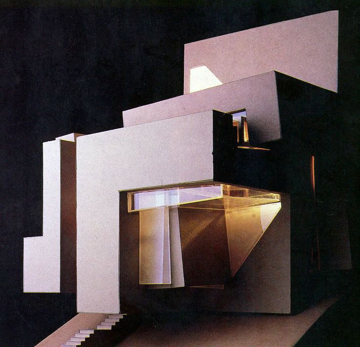 Peter Eisenman Guardiola House Cadiz Spain Architecture Santa Maria House Model