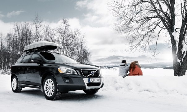 Your #Volvo #60 enjoys playing in the snow as much as you do.
