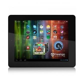Prestigio Tablet 8 PMP7280C został wyposażony w komfortowy 8-calowy wyświetlacz LCD IPS o ostrym i żywym obrazie. Wyposażony w układ graficzny z 1 GB pamięci, korzystający z techniki OpenGL i 3-kierunkowy przyspieszeniomierz, umożliwia oglądanie filmów o jakości Full HD 1080p