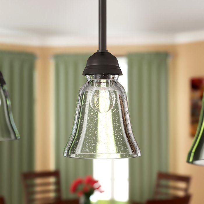 Seeded 5 Glass Bell Pendant Shade Rectangular Lamp Shades Clear Glass Outdoor Light Fixtures