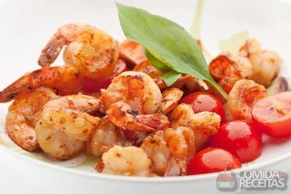 Receita de Camarão na manteiga em receitas de crustaceos, veja essa e outras receitas aqui!