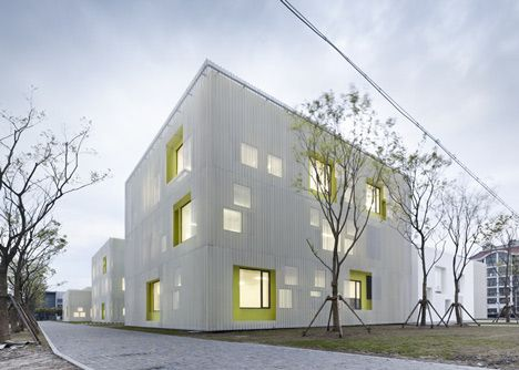 Qingpu Youth Centre by Atelier Deshaus