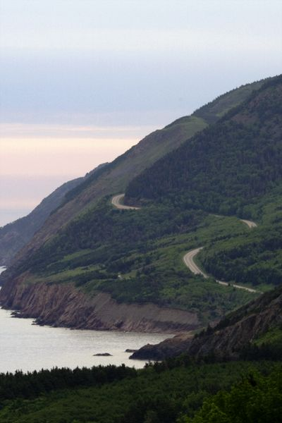 SCENIC DRIVE -- FABULOUS CANADA! -- COAST ROAD of CAPE BRETON, NOVA SCOTIA:  Canada's provinces of Nova Scotia, Newfoundland and Labrador are spectacular.  i want to seee!