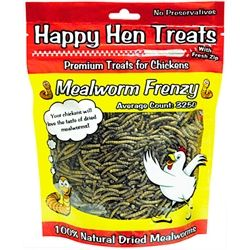 Mealworm Frenzy from My Pet Chicken this is a special treat for your chickens,wi…
