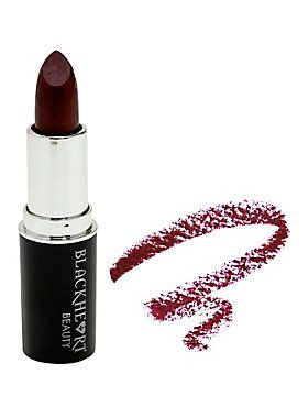 """When crimson just isn't dark enough, burgundy steps in to get the job done. This Burgundy Matte Lipstick from Blackheart Beauty glides on smooth and has a flat matte finish that is so on trend.<div><ul><li style=""""list-style-position: inside !important; list-style-type: disc !important"""">.12 oz.</li><li style=""""list-style-position: inside !important; list-style-type: disc !important"""">Cruelty free</li><li style=""""list-style-position: inside !important; list-style-type: disc !important..."""