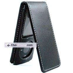 Etui flip cuir luxe iPod Nano 4 sur http://www.etui-iphone.com/ rubirque #ipod #nano