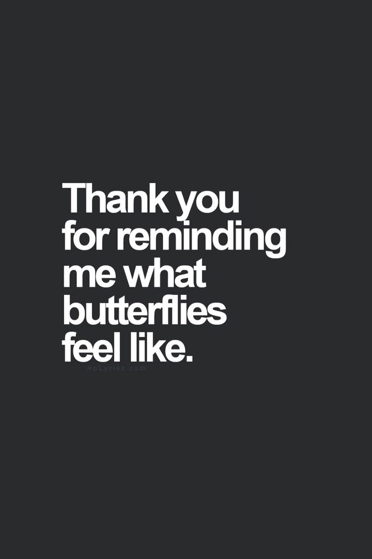 Not necessarily a good thing though. The butterflies he gave me hurt me soooo much now!!!