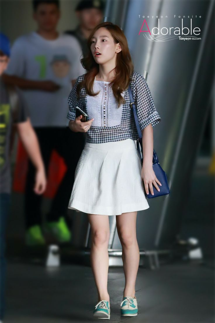 SNSD TaeYeon @ Airport | Airport Fashion | Pinterest ...