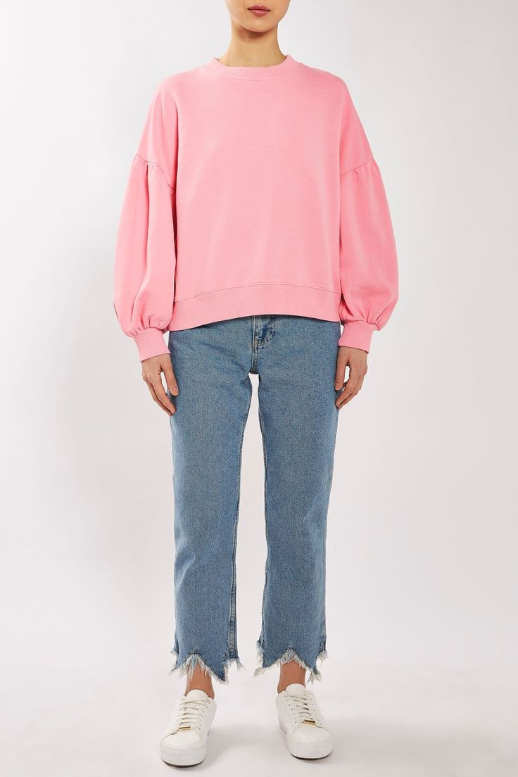 Balloon Sleeve Sweat by Boutique