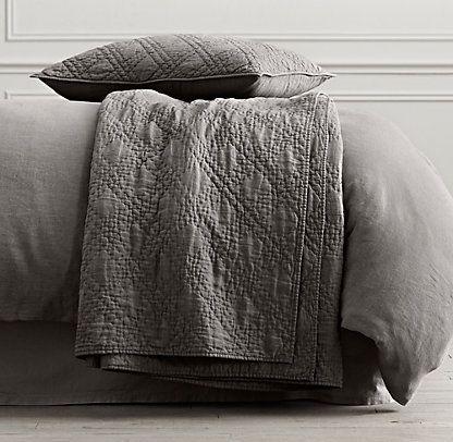 Quilts & Coverlets   Restoration Hardware