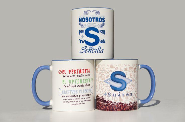Fotografía de producto para las tazas de la correduría de seguros +Suárez #fotoproducto #producto #foto #photography #product #tazas