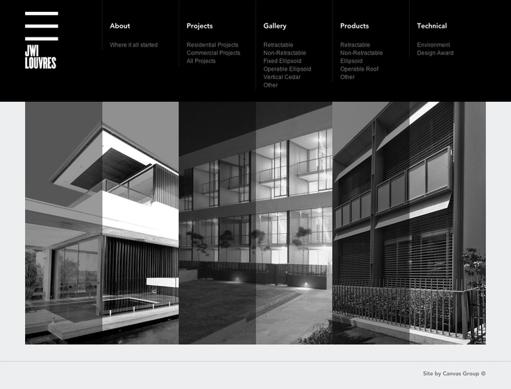 Website design architect for Architectural websites
