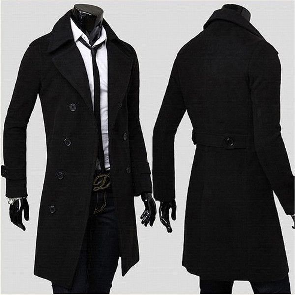 """Presenting 'The BOSS' men's trench coat. You probably think to yourself """"I want to be taken seriously"""", """"Get a few smiles from the waitress at a restaurant"""" o"""