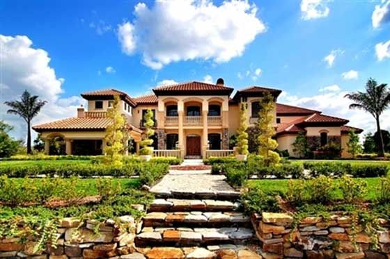 Tuscan Style Luxury Homes