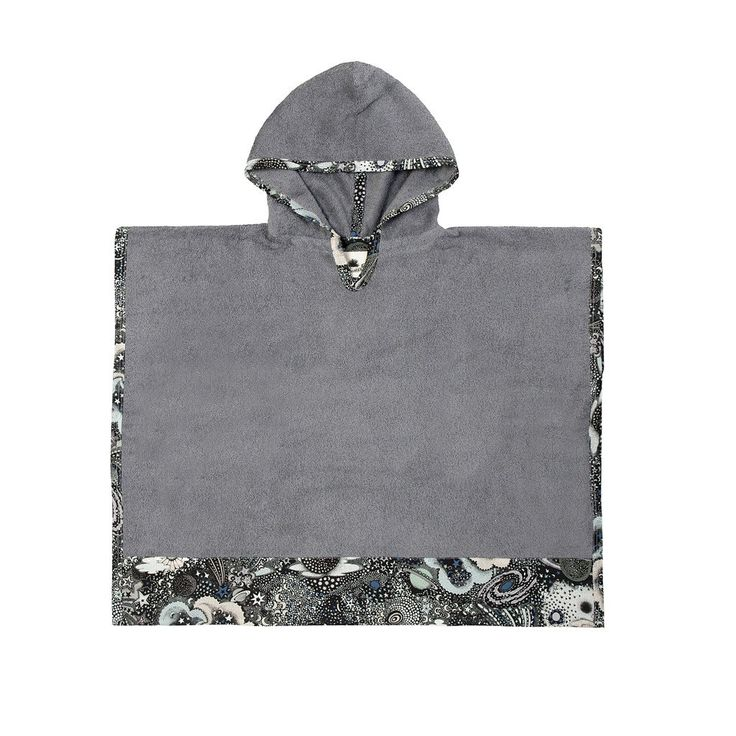 Milky Way Nocturnal | Kid's Poncho - Sun of a Beach