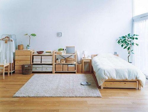 interesting minimalist bedroom