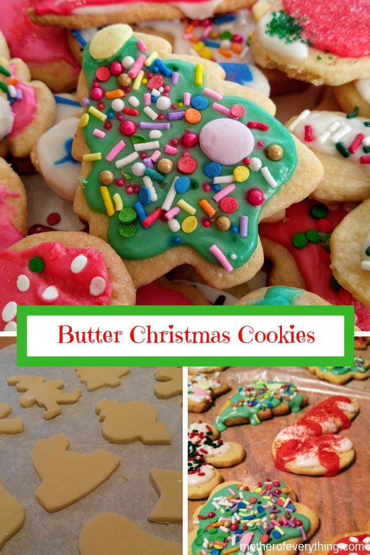 Christmas Butter Cookies Recipe Easy Recipes Best Christmas