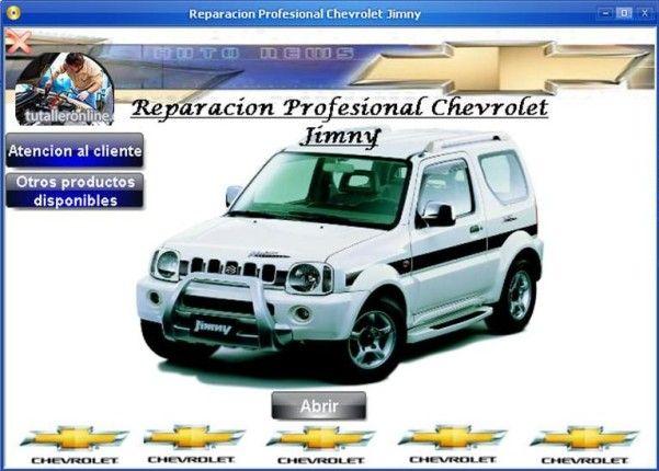 Manual De Tallerreparacion Profesional Chevrolet Jimny 1999 2007