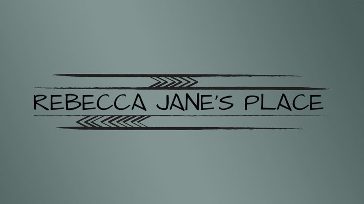 Logo design for Rebecca Jane's Place - boutique homewares store in NSW