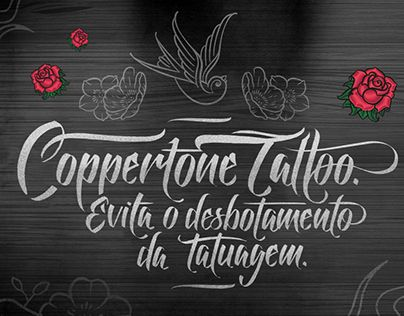 """Check out new work on my @Behance portfolio: """"Coppertone Tattoo"""" http://be.net/gallery/36976223/Coppertone-Tattoo"""