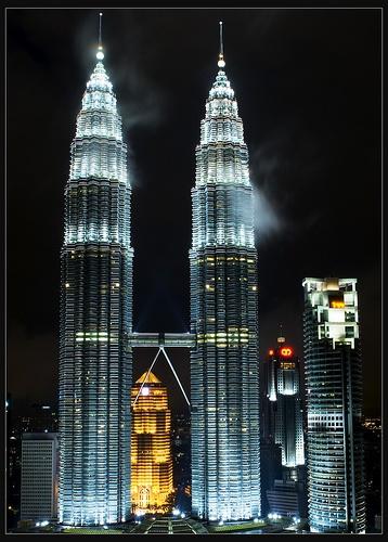 Ice Towers, Traders Hotel, Kuala Lumpur (Malaysia)