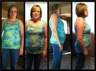 Carla, I have been taking Skinny Fiber for 30 days now. I have heard so much about It, I thought I would try it. I didn't exercise (due to knee problems) and I didn't change my eating habits. I used to eat ALL day long. I was always snacking on something, but since Skinny Fiber I don't even want to. I have SO much more energy then I have ever had. My weight was 78kg (171 lbs) when I started now I'm at 74kg (163 lbs). I can't wait to see what the next 2 months will bring…